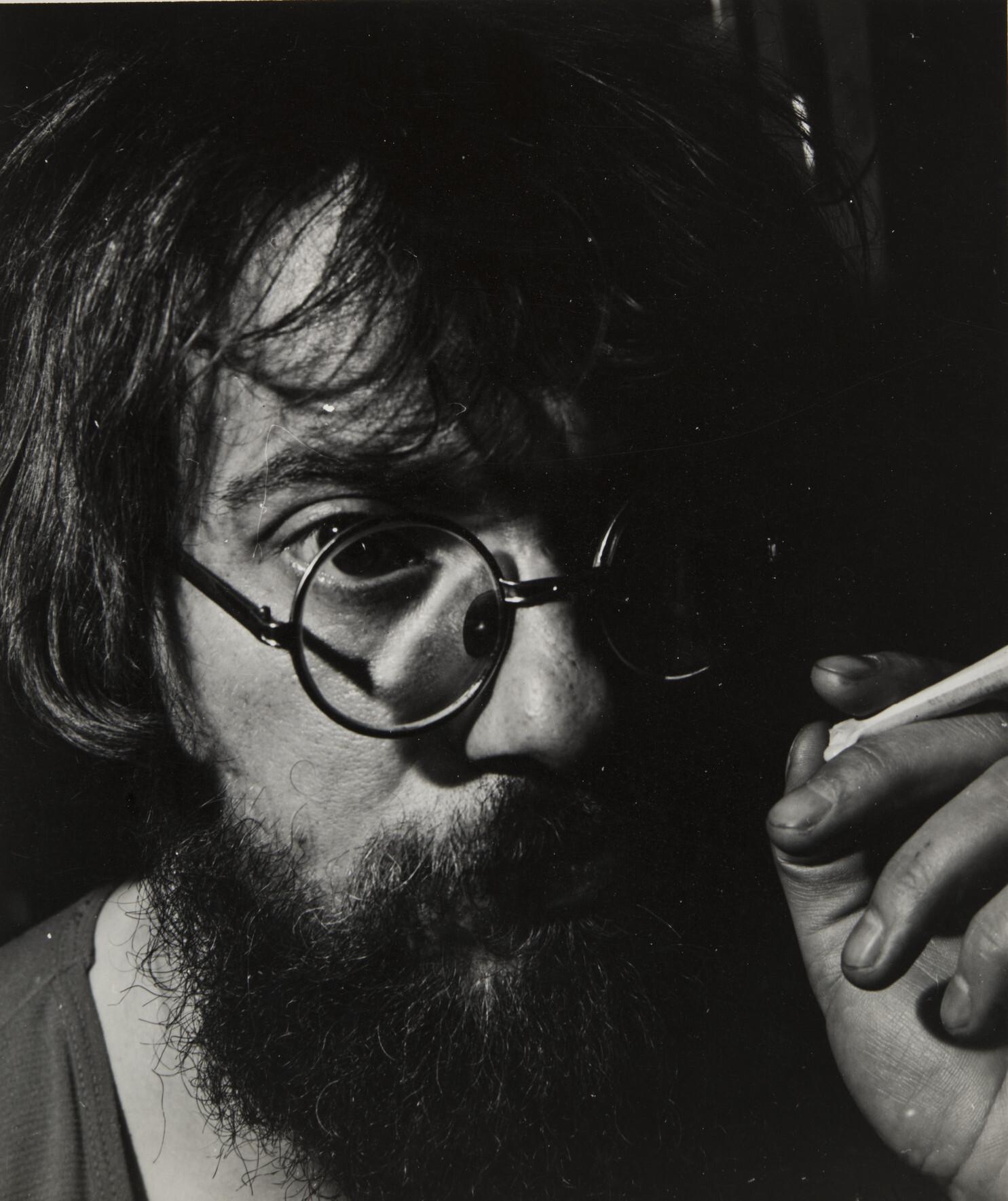 Борис Смелов.    Автопортрет   Ленинград, 1985