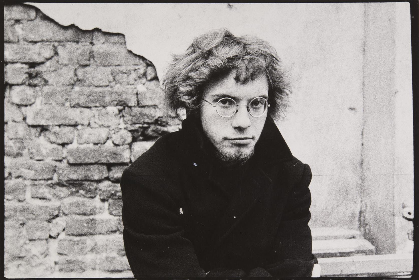 Борис Смелов.    Автопортрет   Ленинград, 1978