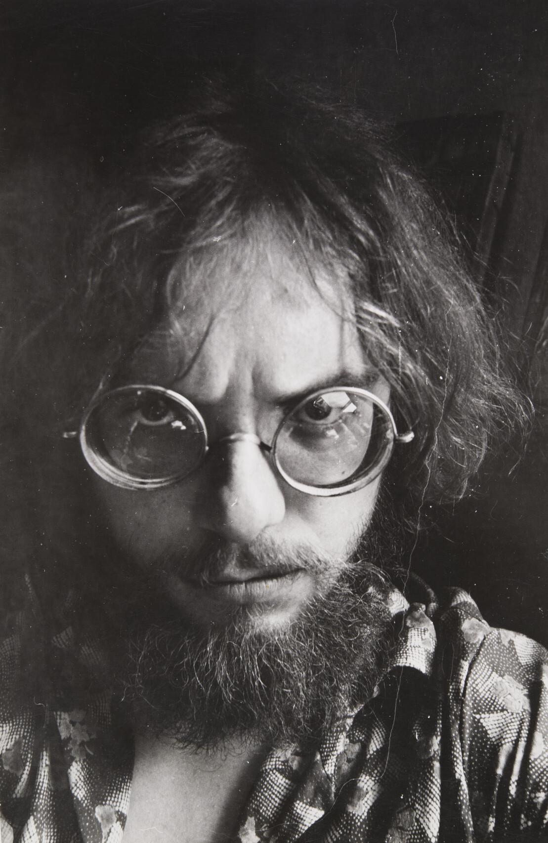 Борис Смелов.    Автопортрет   Ленинград, 1970‑е