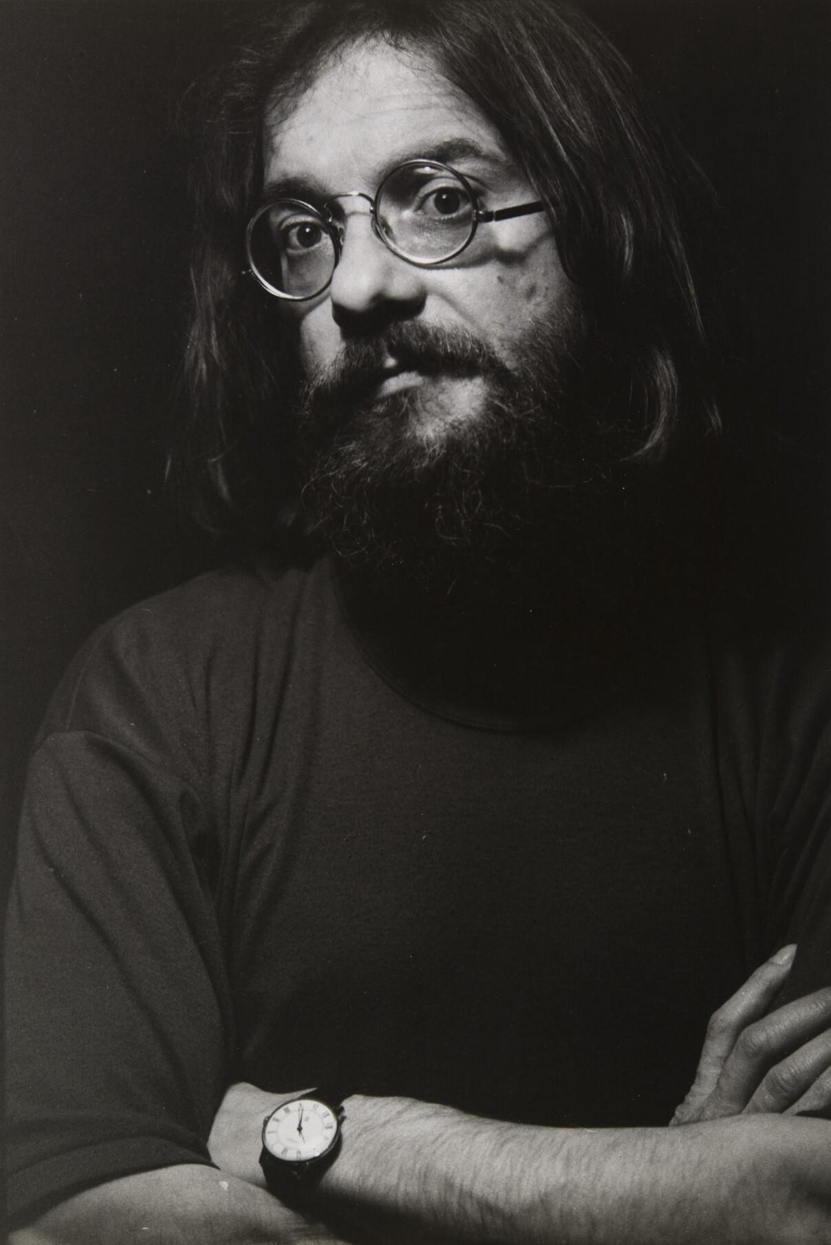 Борис Смелов.    Автопортрет   Ленинград, 1997