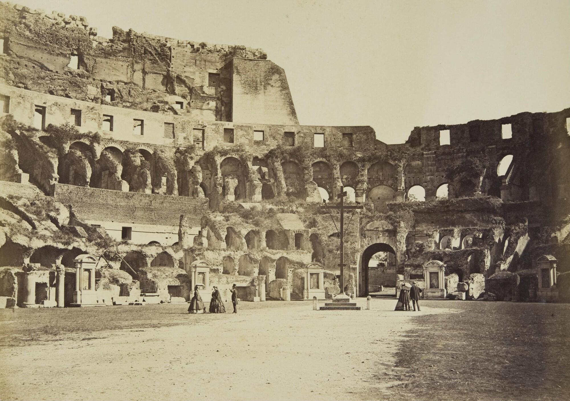 Альтобелли и Молинс.    Колизей, 1860–1870‑е   Альбуминовый отпечаток