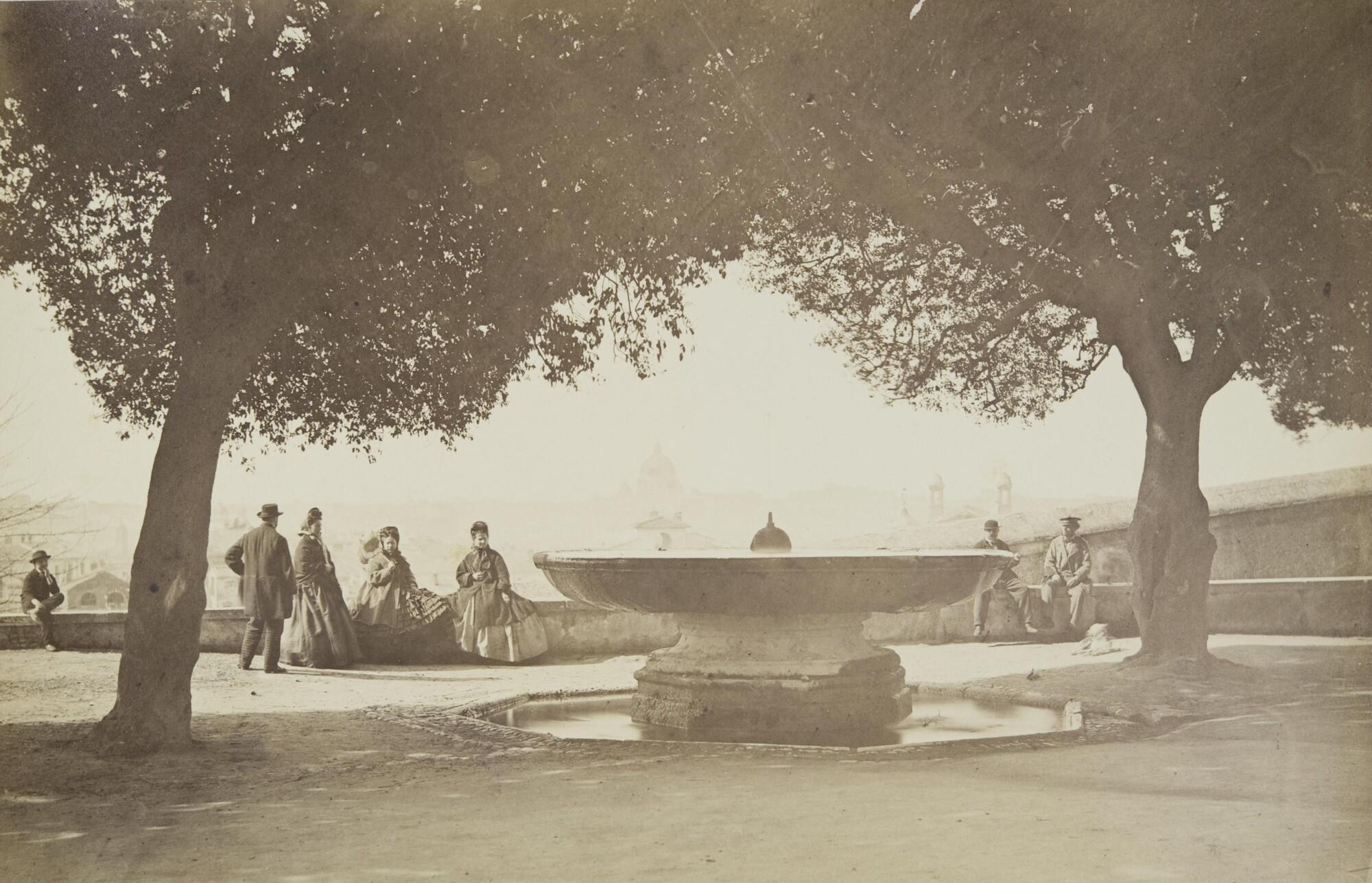 Альтобелли и Молинс.    Рим, 1860‑е   Альбуминовый отпечаток