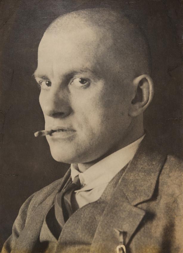 А. М. Родченко.  Портрет В. В. Маяковского 1924