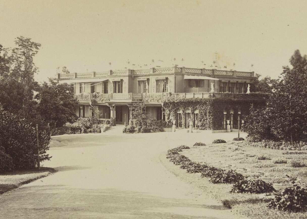 Фёдор Орлов (?).    Ливадия. Старый Большой Императорский дворец,1890‑е