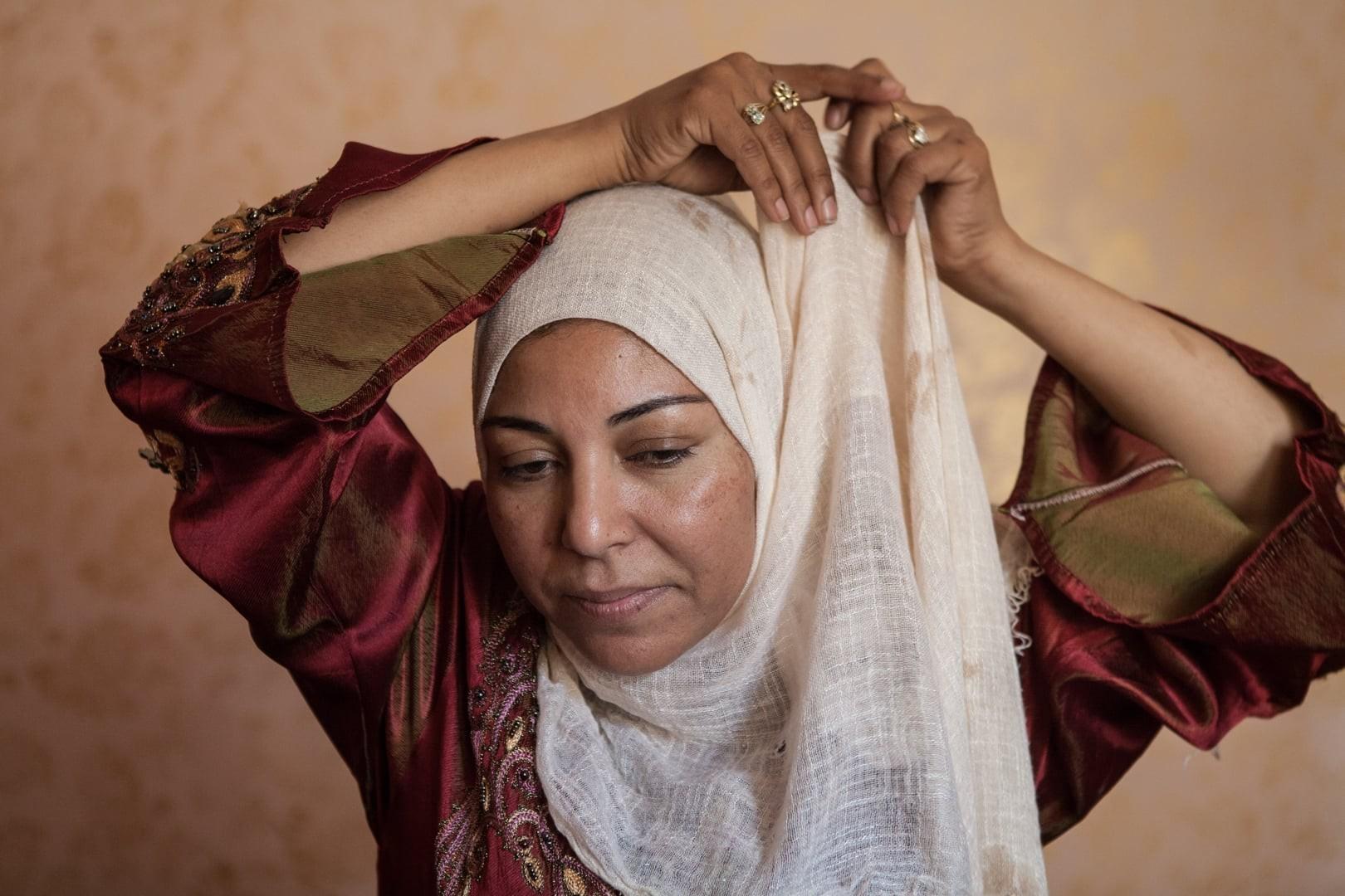 Amélie Losier.    Nadia Ali Abdala, 42 Jahre   Sadat City, Ägypten, 2014