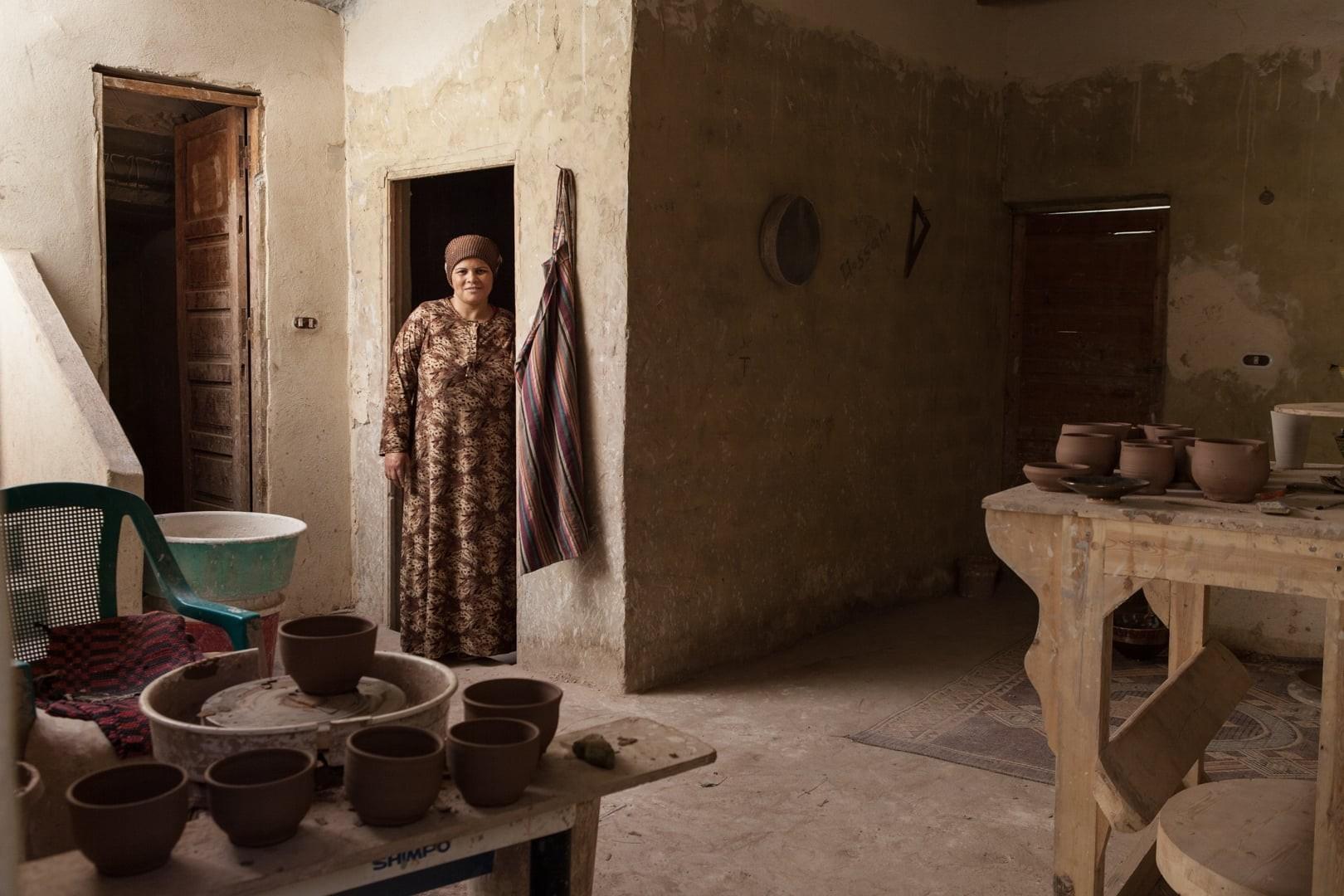 Amélie Losier.  Rawiya, Abdel Kadr, 37 Jahre Tunis El Fayoum, Ägypten, 2014