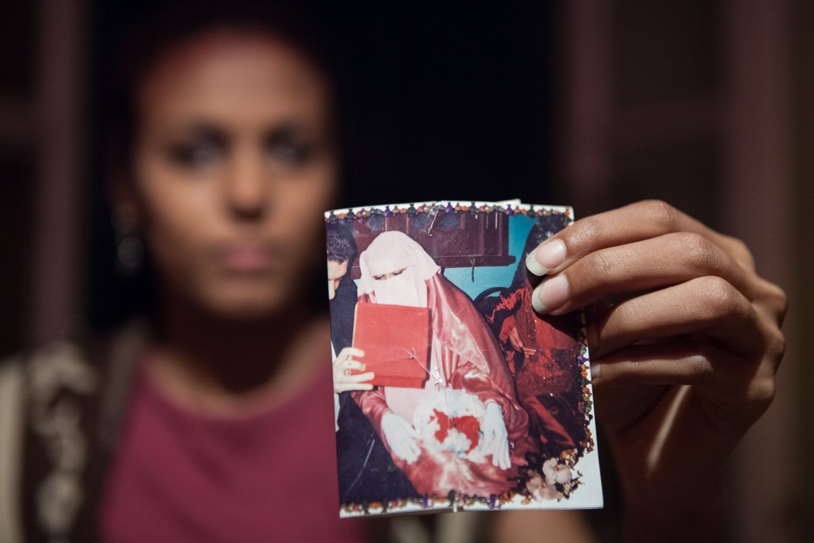 Amélie Losier.    Salma Aziz (Name geändert) 28 Jahre   Kairo, Ägypten, 2014