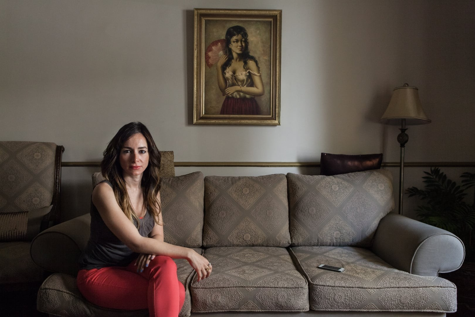 Amélie Losier.    Zeinab Sabet, 31 Jahre   Kairo, Ägypten, 2014