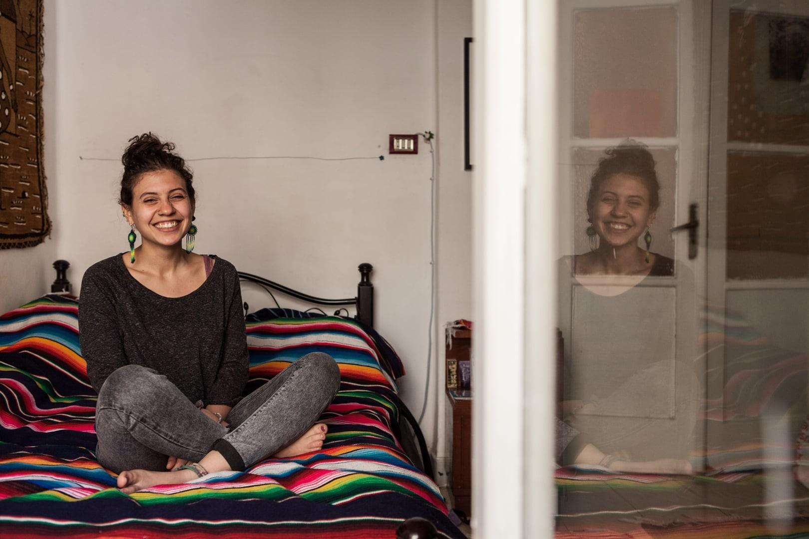 Amélie Losier.  Nada Elissa, 26 Jahre Kairo, Ägypten, 2015