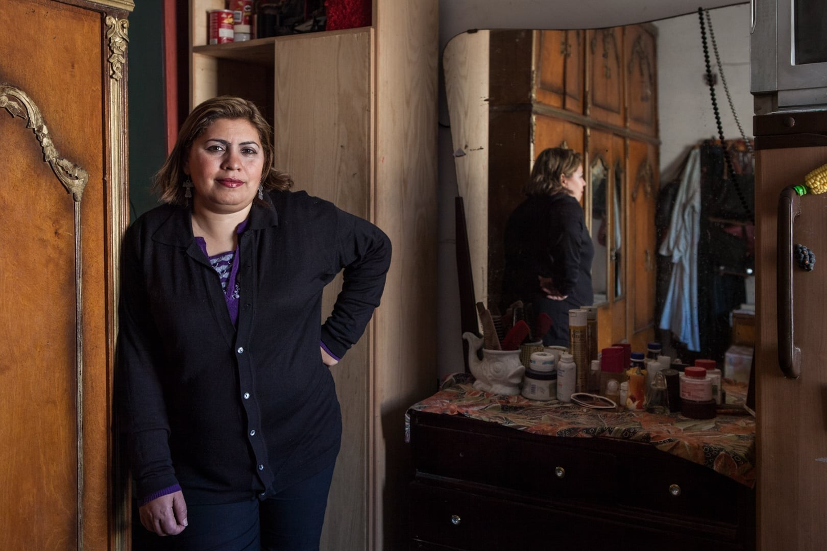 Amélie Losier.    Nadia Girgis, 42 Jahre   Kairo, Ägypten, 2015