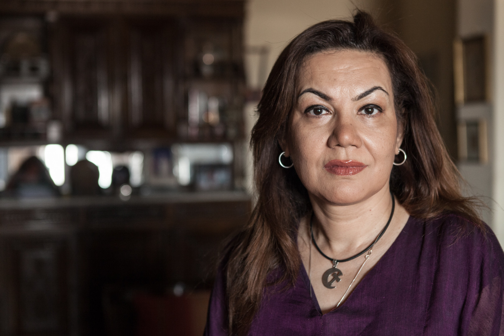 Amélie Losier.    Bothaina Kamel, 52 Jahre   Kairo, Ägypten, 2014