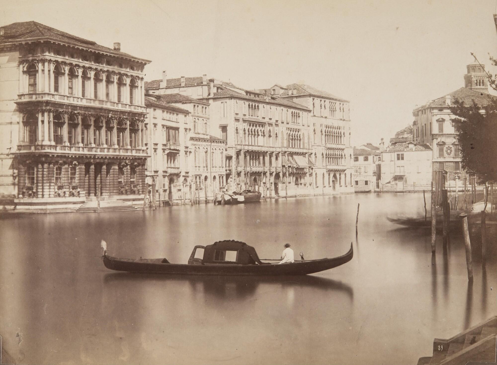Пьетро Бертойя.  Венецианская лагуна,1900‑е Альбуминовый отпечаток