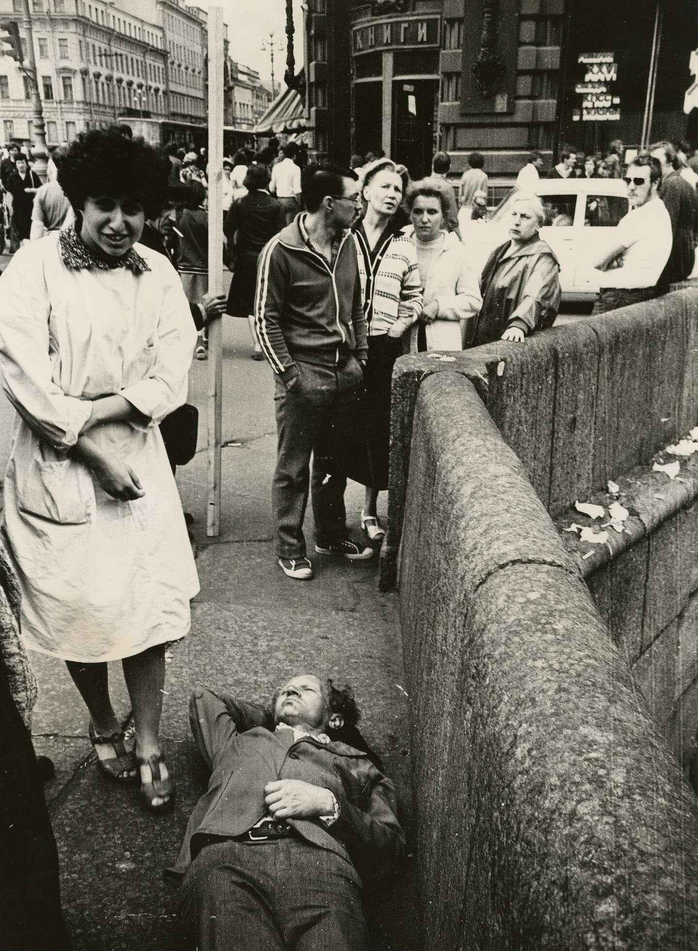 Сергей Королев.    Происшествие на Казанском мосту   Ленинград, конец 1983