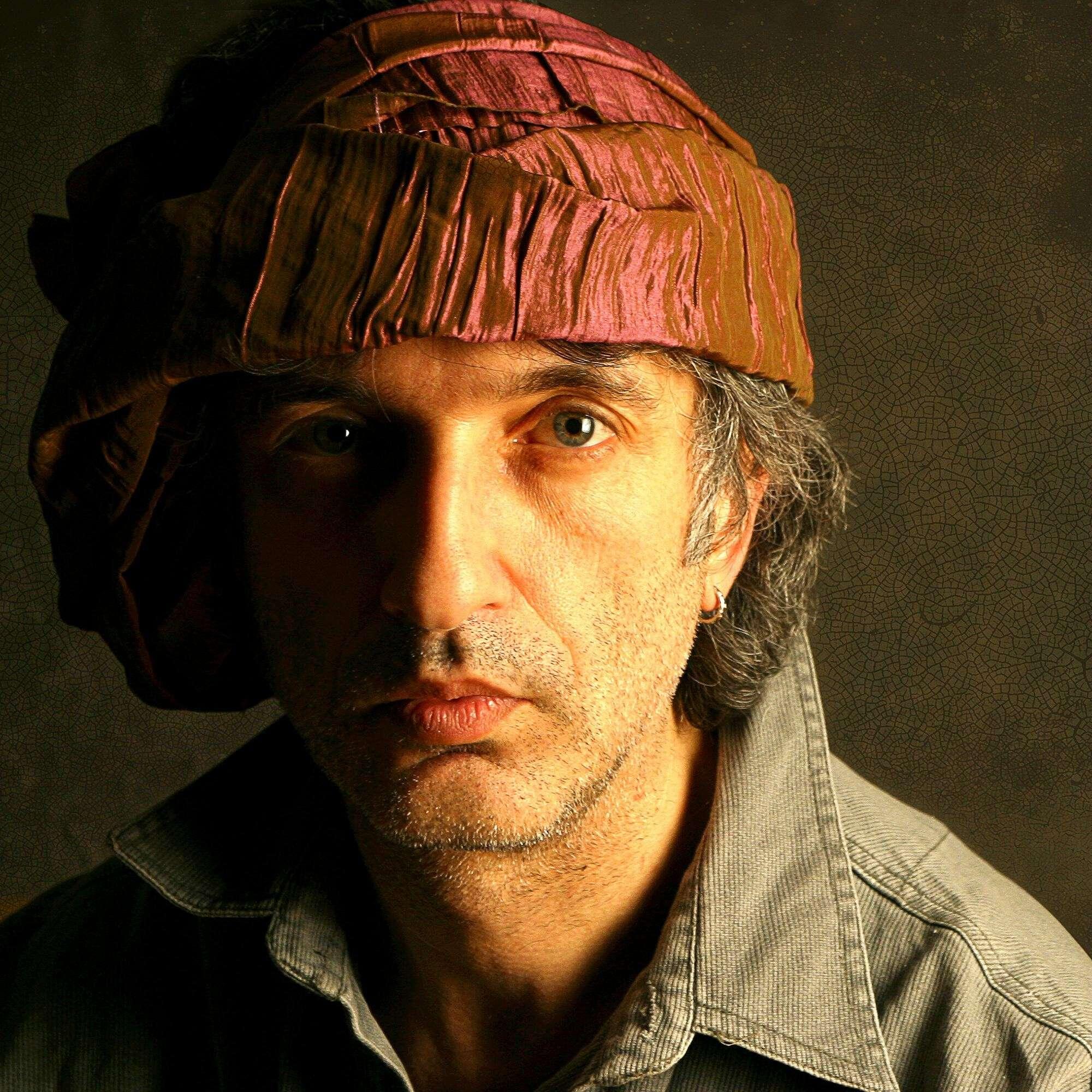Автопортрет в тюрбане.  Из серии «Автопортрет», 2005-2008 Коллекция автора