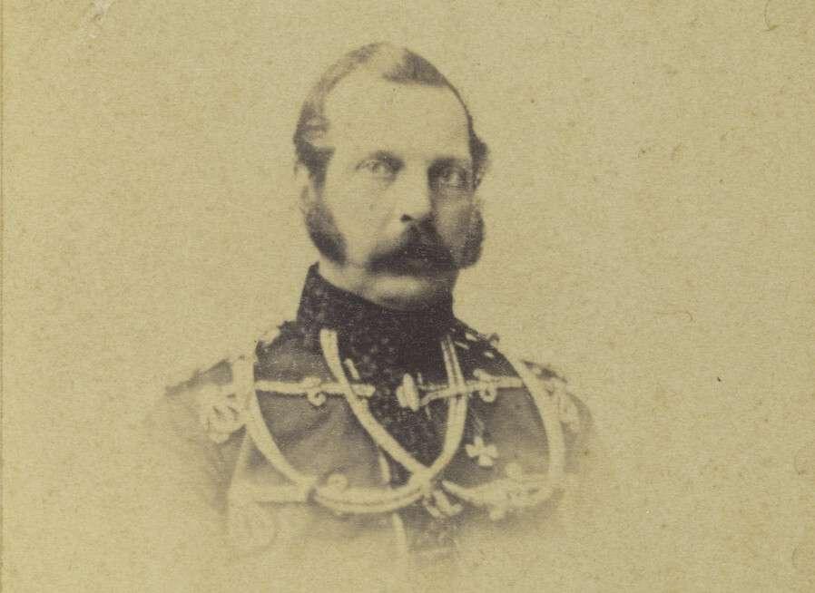 Неизвестный автор.    Александр II в форме лейб-гвардии Гусарского полка, конец 1860-х — начало 1870-х