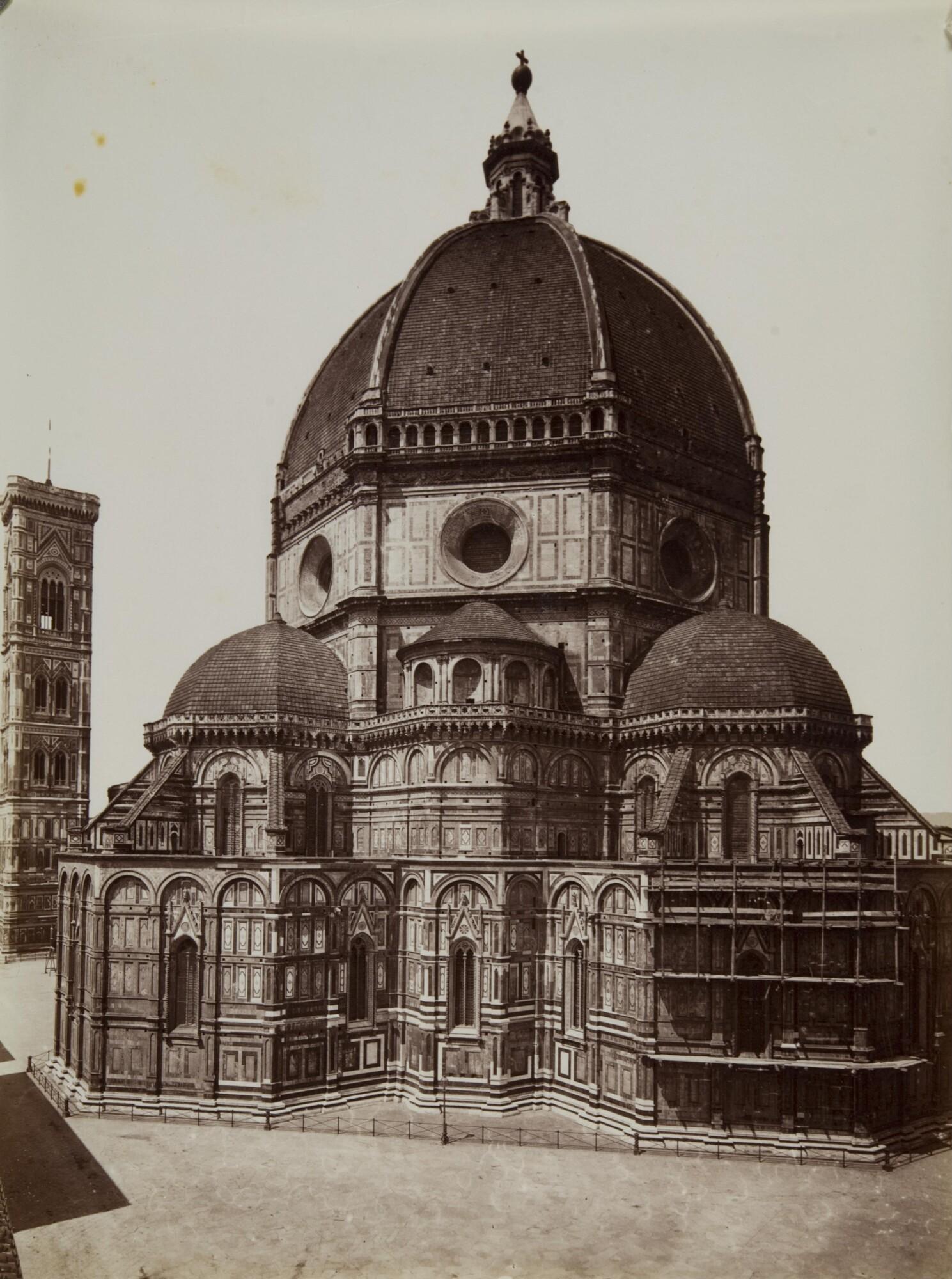Алинари.    Собор Санта-Мария дель Фьоре, 1880–1890   Альбуминовый отпечаток