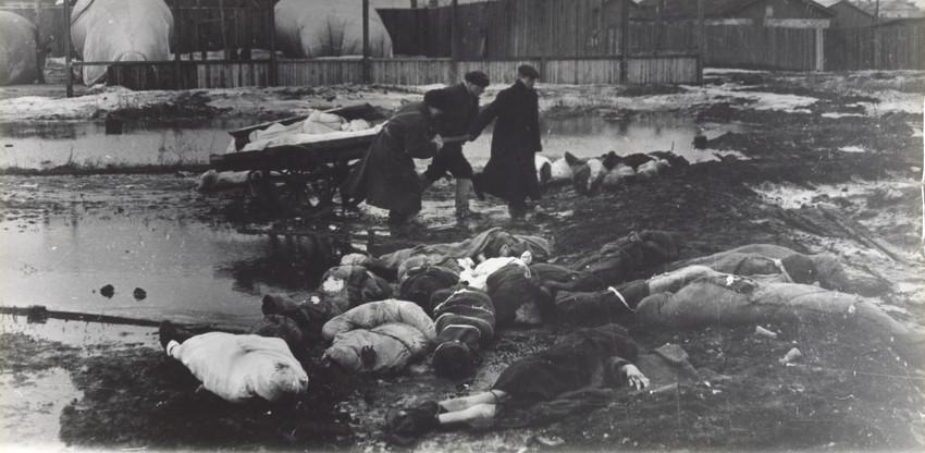 Б. П. Кудояров.    Волково кладбище   Осень1942 (?)
