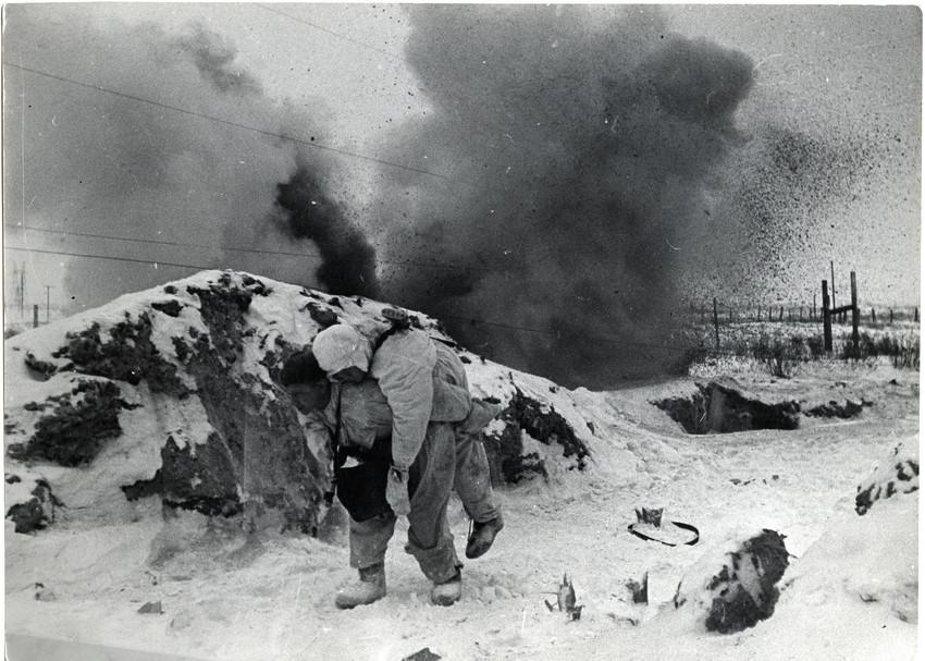 Б. П. Кудояров.    Боевые действия в Пулково   1944