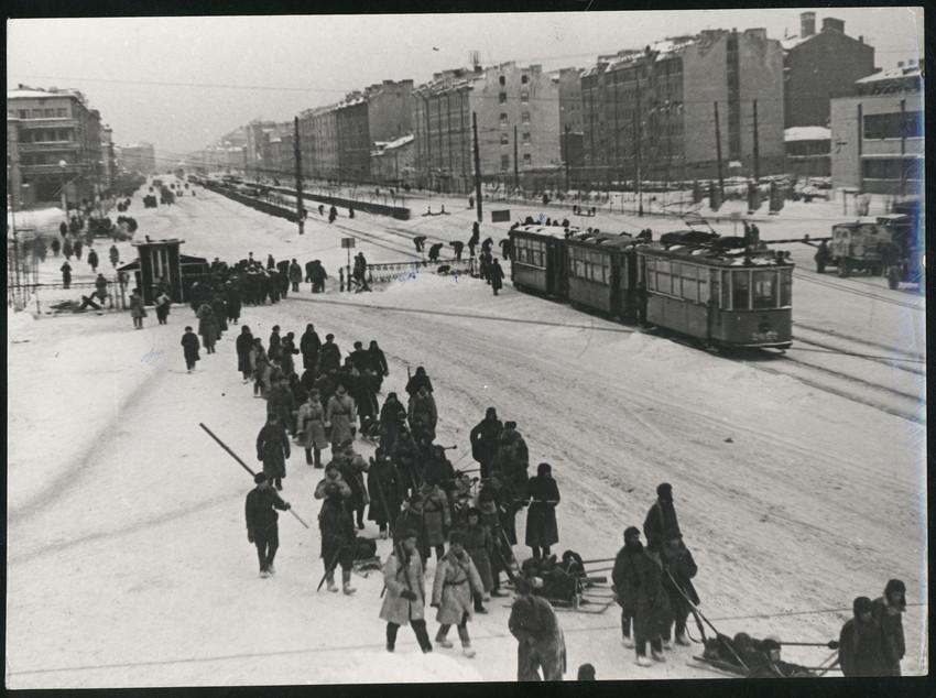 Б. П. Кудояров.    Ленинград в блокаде   1942–1943