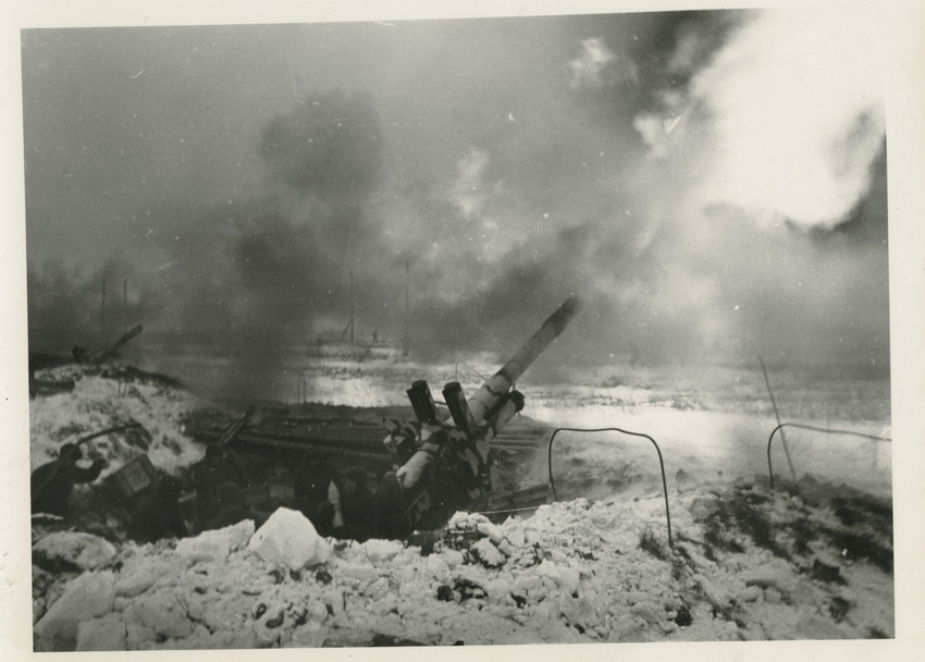 Б. П. Кудояров.    Артиллерия   1941–1944