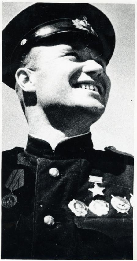 Б. П. Кудояров.    Портрет военного   1941–1945