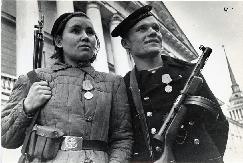 Б. П. Кудояров.    Защитники Ленинграда   1941–1944