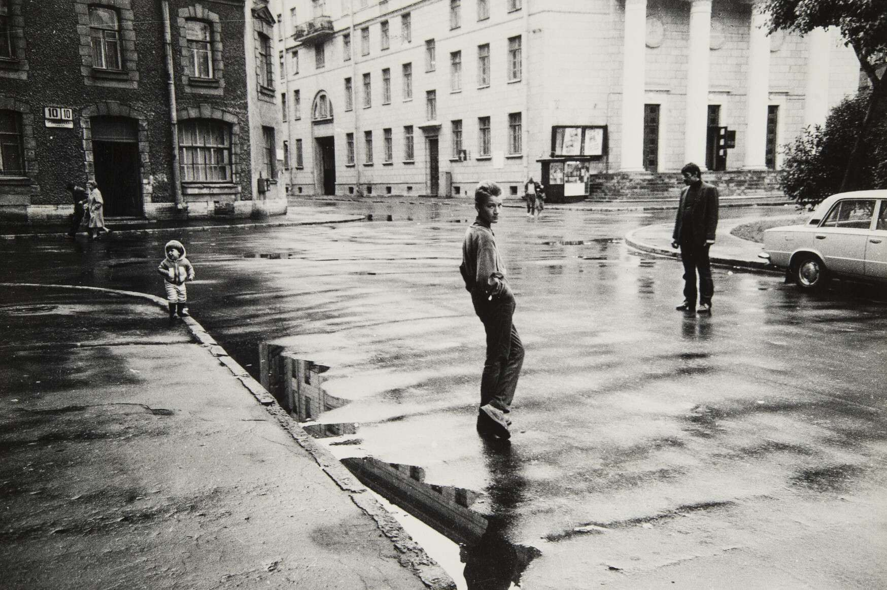 Сергей Королев.    Без названия   Ленинград, 1986
