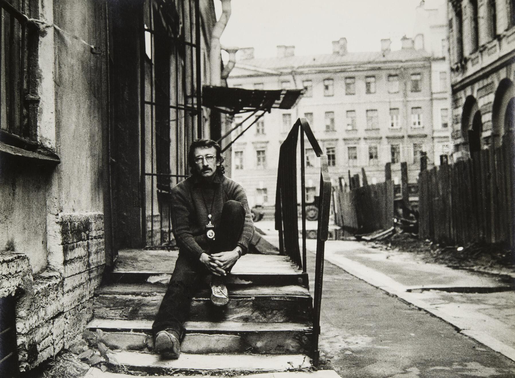 Сергей Королев.    Автопортрет   Ленинград, 1987- 1989