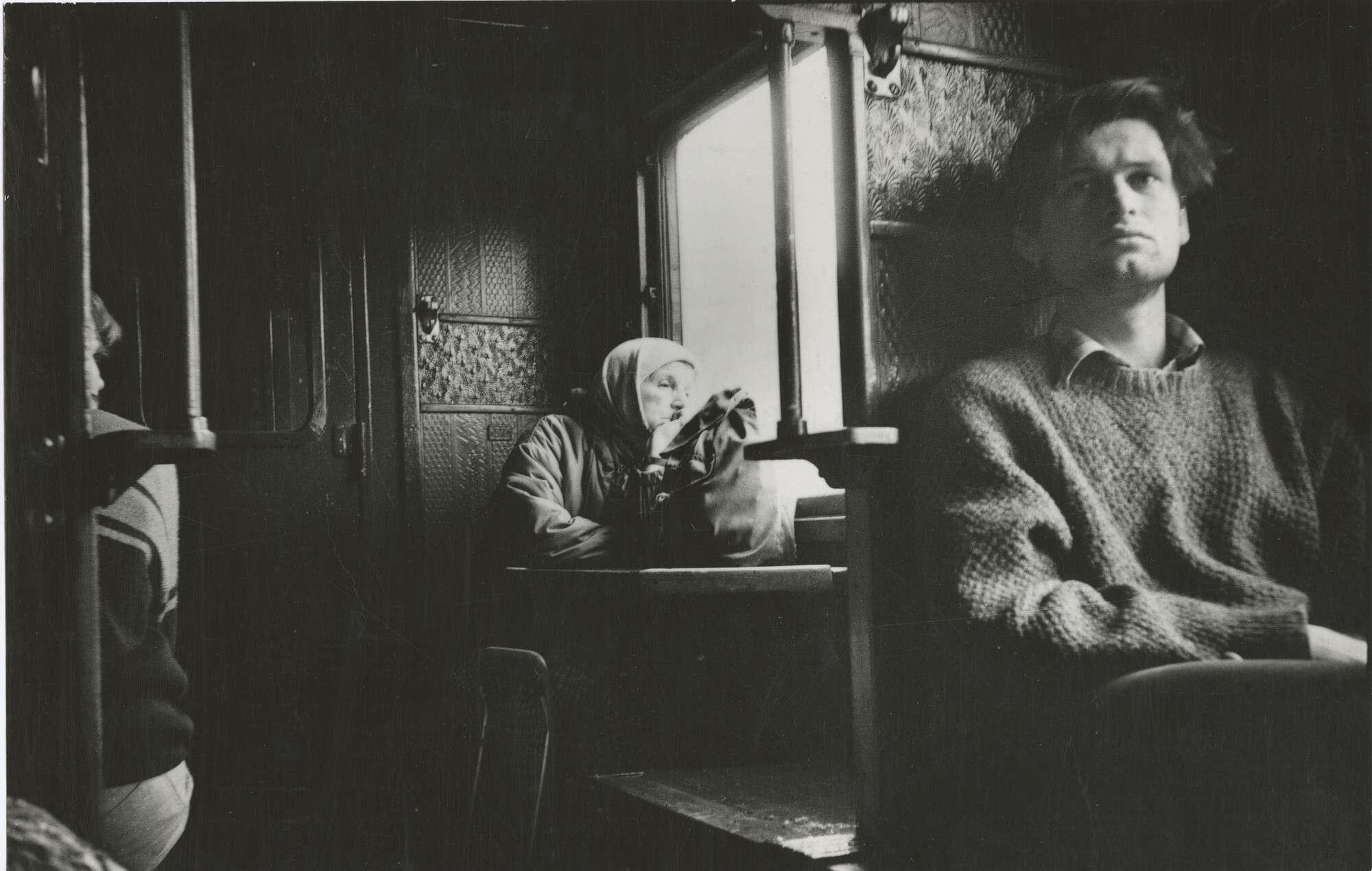 Борис Михалевкин.    Районный поезд   1989