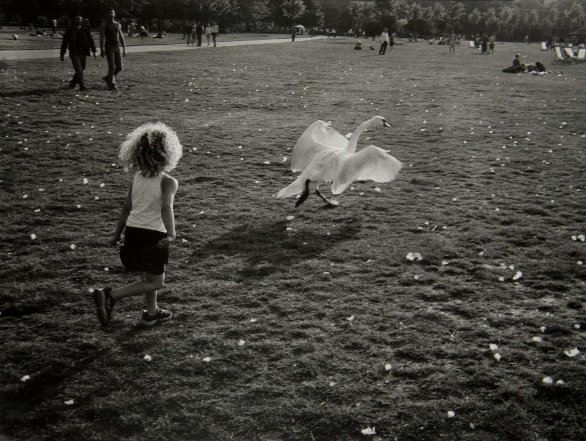 Борис Михалевкин.    Гайд-парк. Лондон   2004