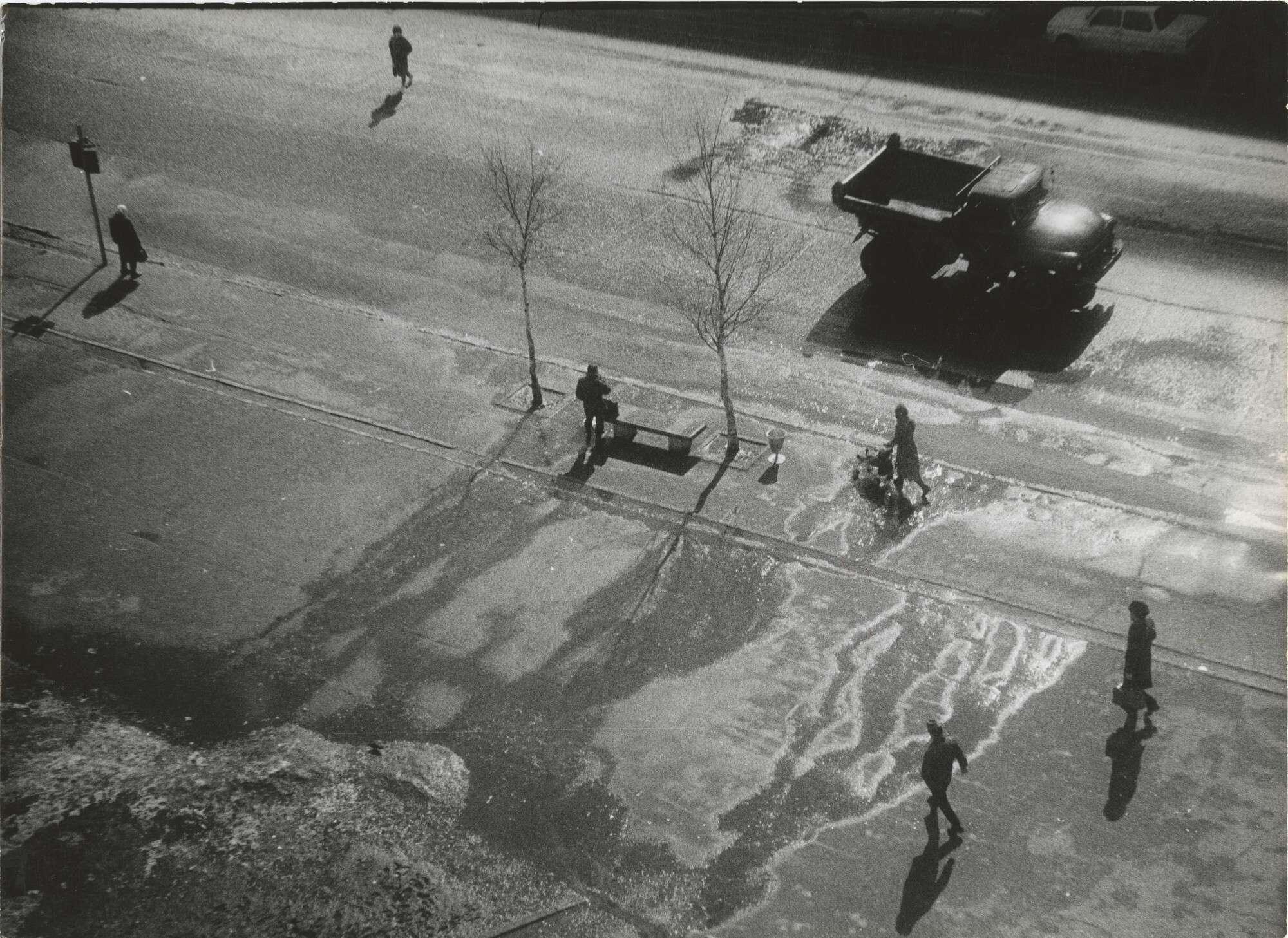 Борис Михалевкин.    Сыктывкар, весна   1980