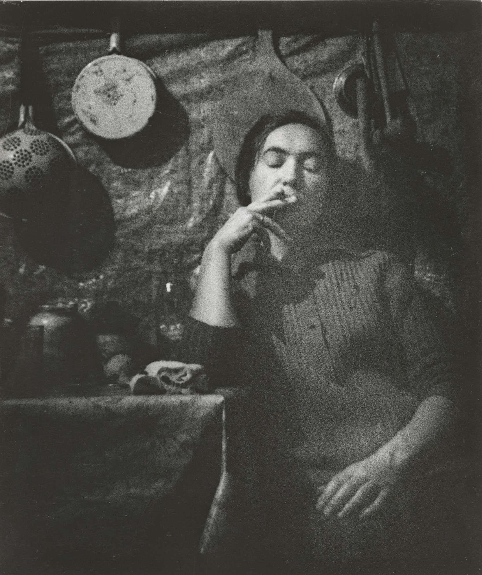 Борис Михалевкин.    Усталая   1970