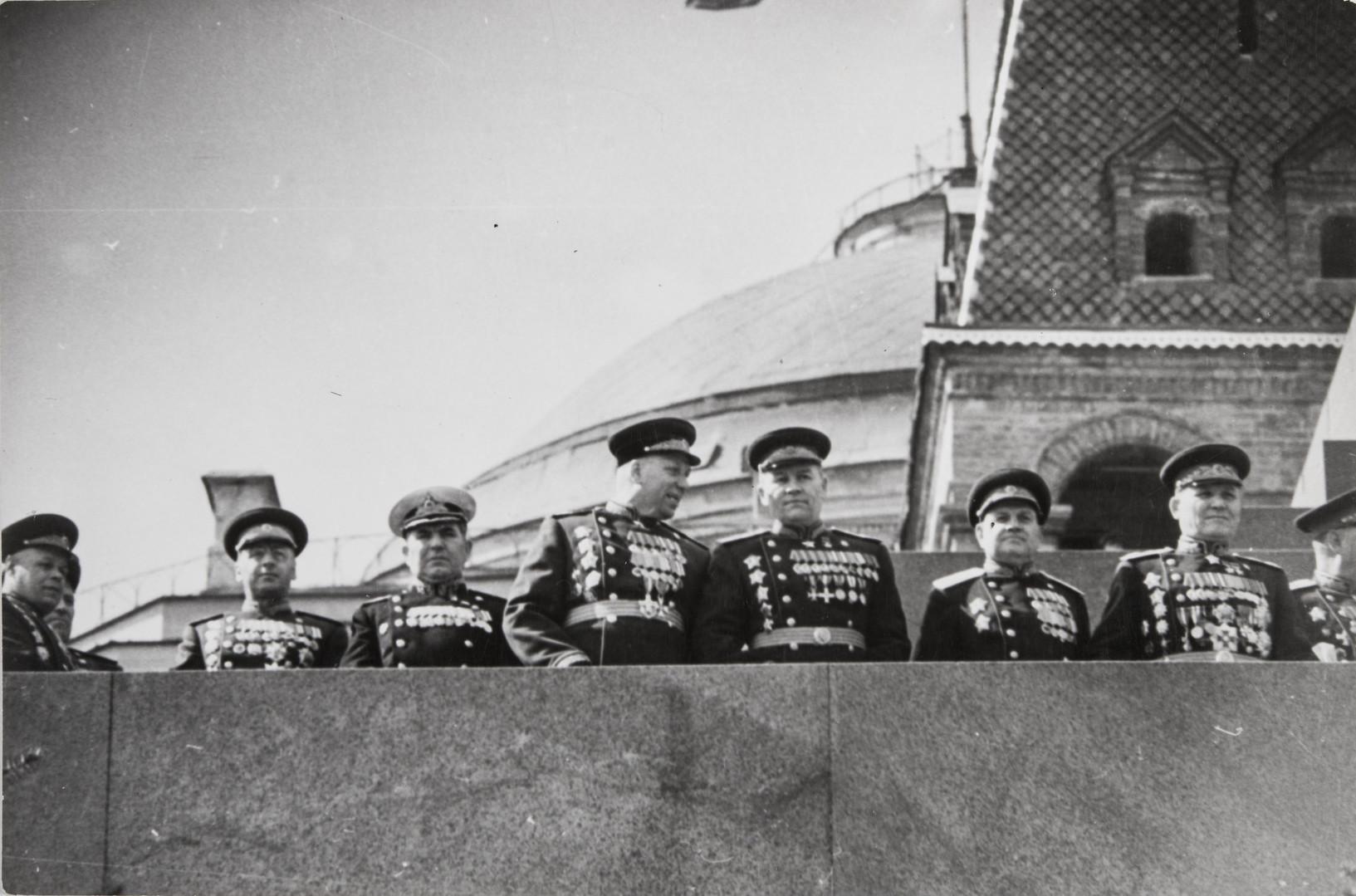Е. А. Халдей.    Парад Победы   Москва, СССР, 1945
