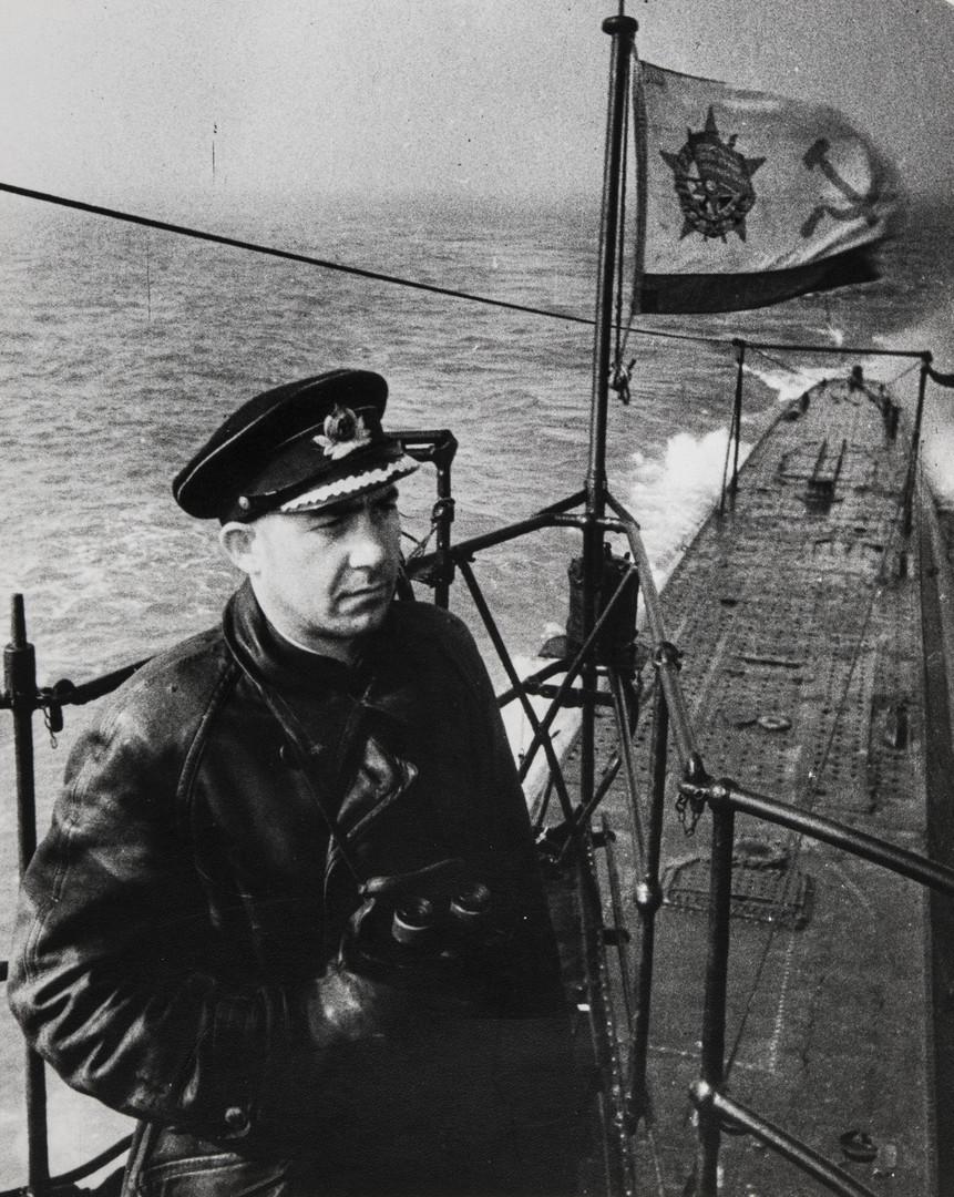 Е. А. Халдей.    Баренцево море   СССР, 1941
