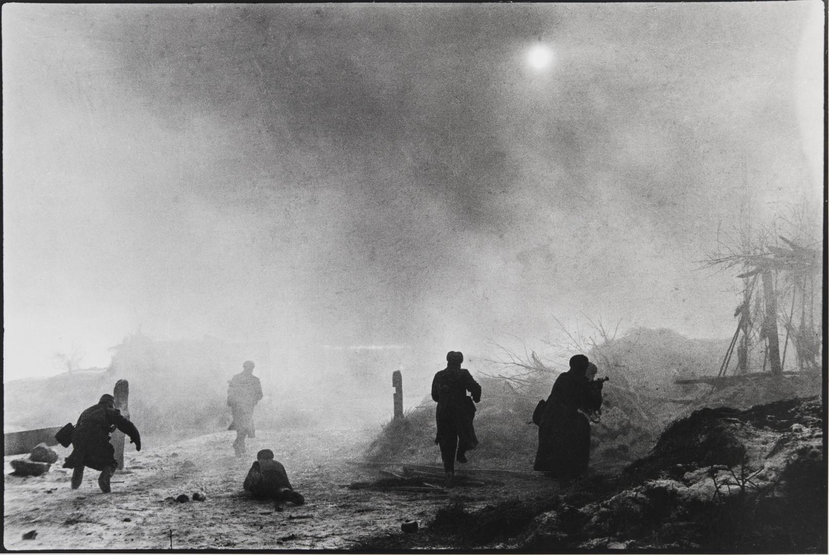 Е. А. Халдей.    Бой за Ростов-на-Дону   СССР, 1943