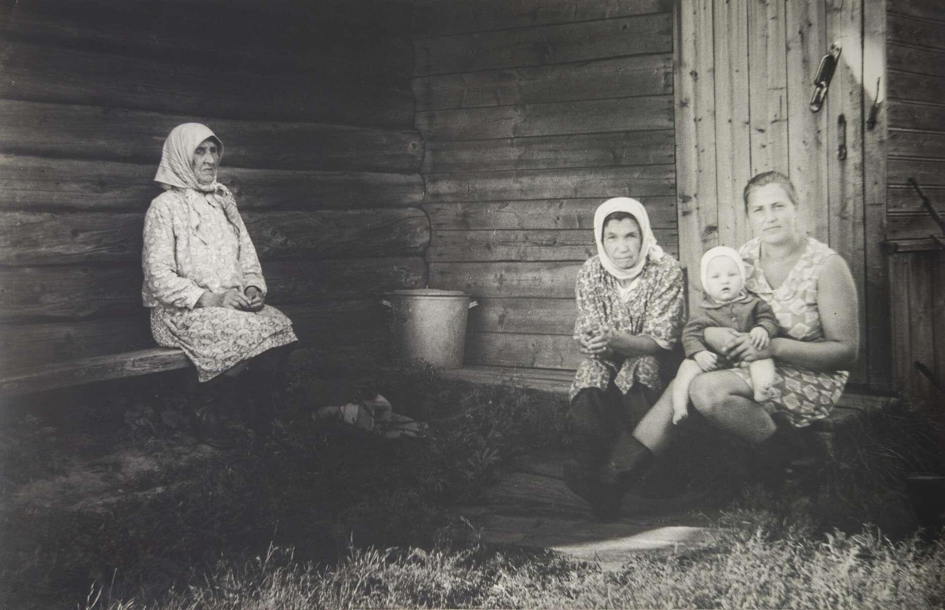 Борис Михалевкин.    Три матери   1980‑е