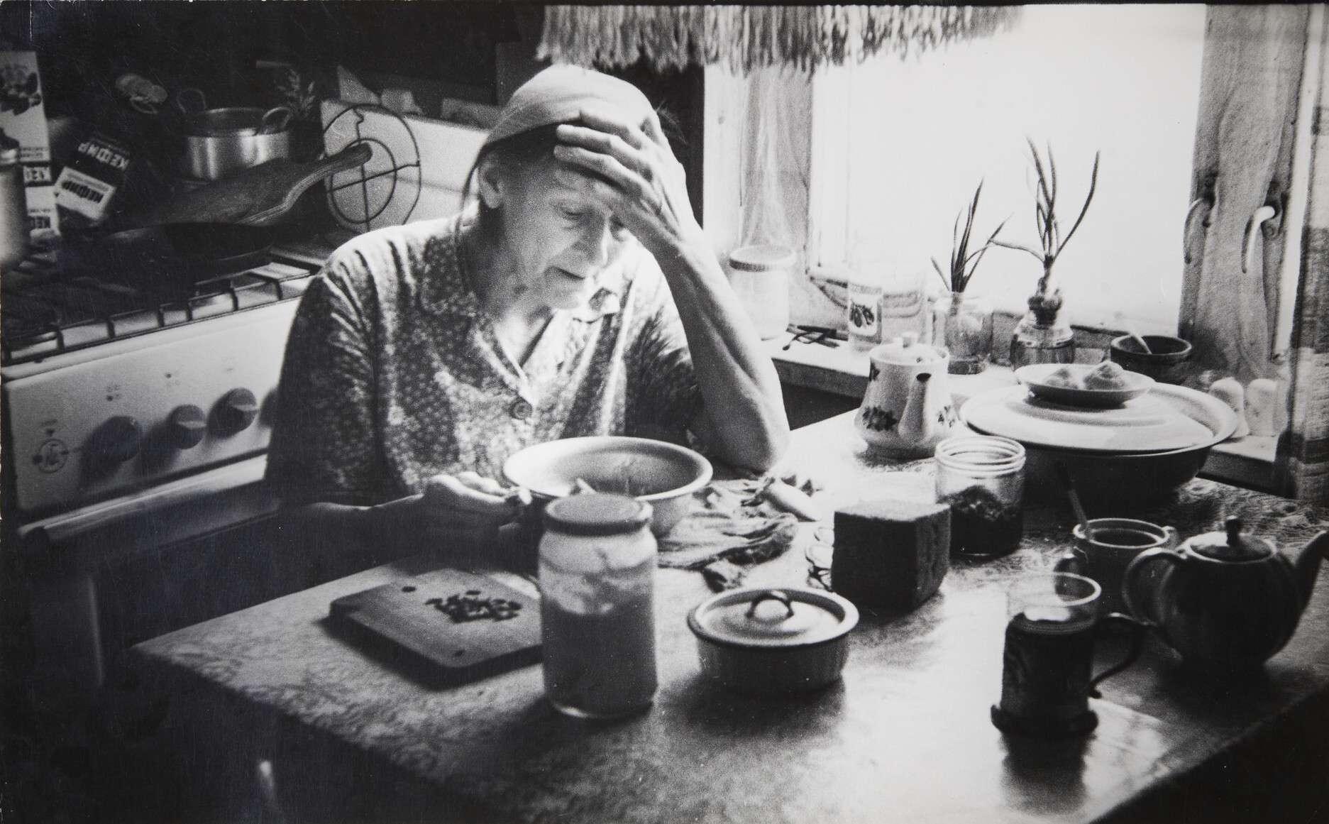 Борис Михалевкин.    Усталая   1978
