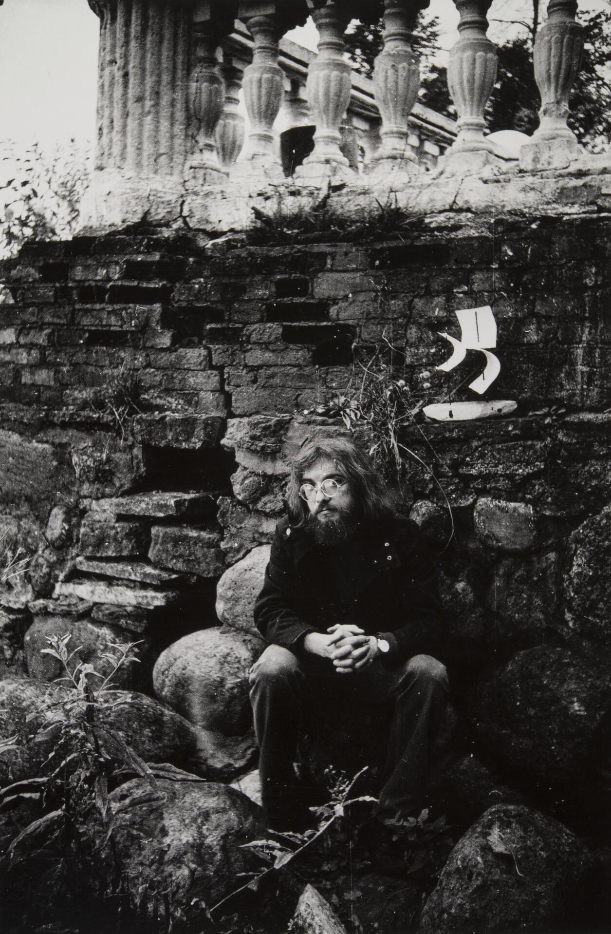 Борис Смелов.    Автопортрет   Ленинград, 1970‑е–1990‑е