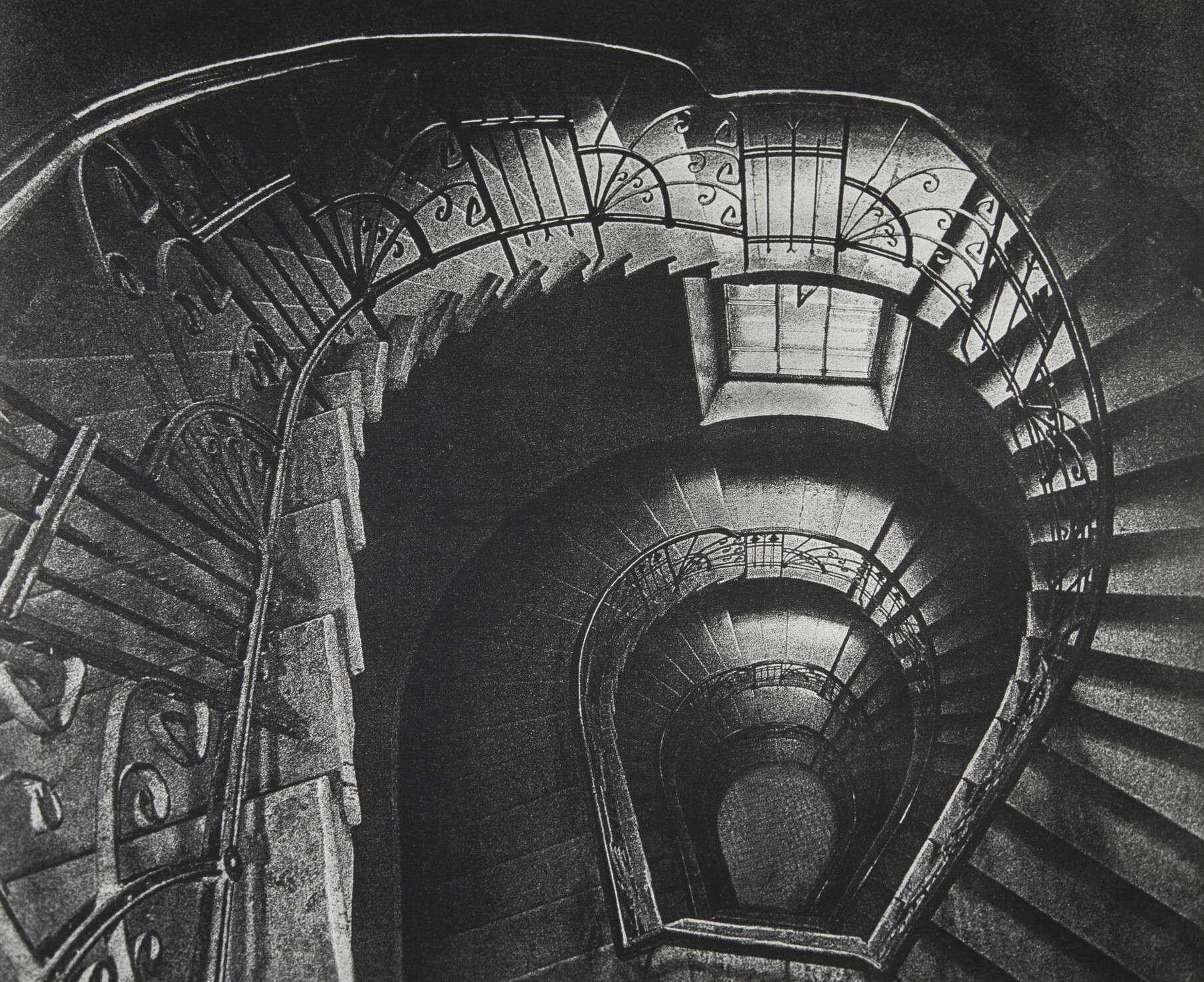 "Vortex. From the series ""Old Town"".     Saint Petersburg, 1999   Silver bromide print"
