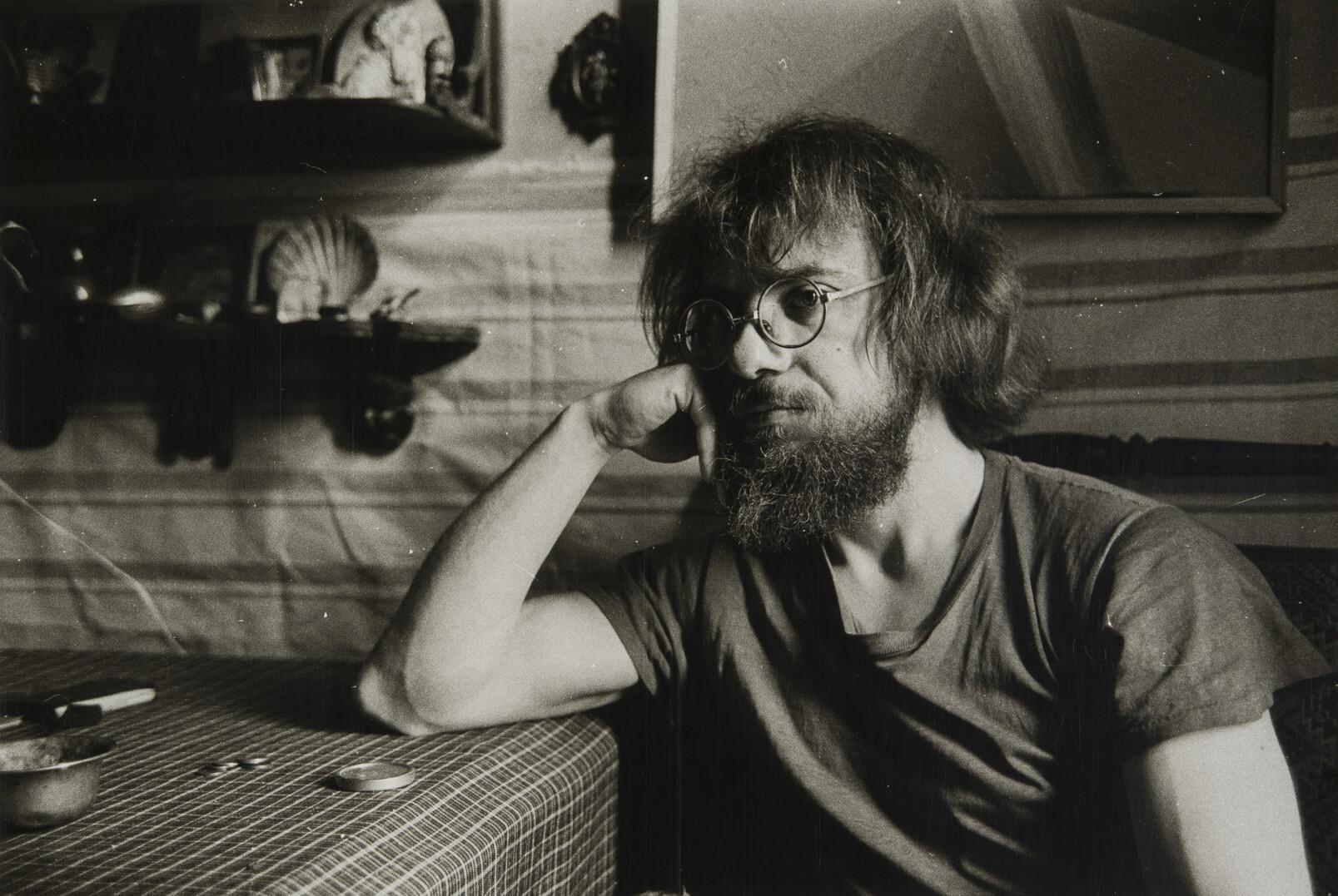 Борис Смелов.    Автопортрет   Ленинград, 1989–1990