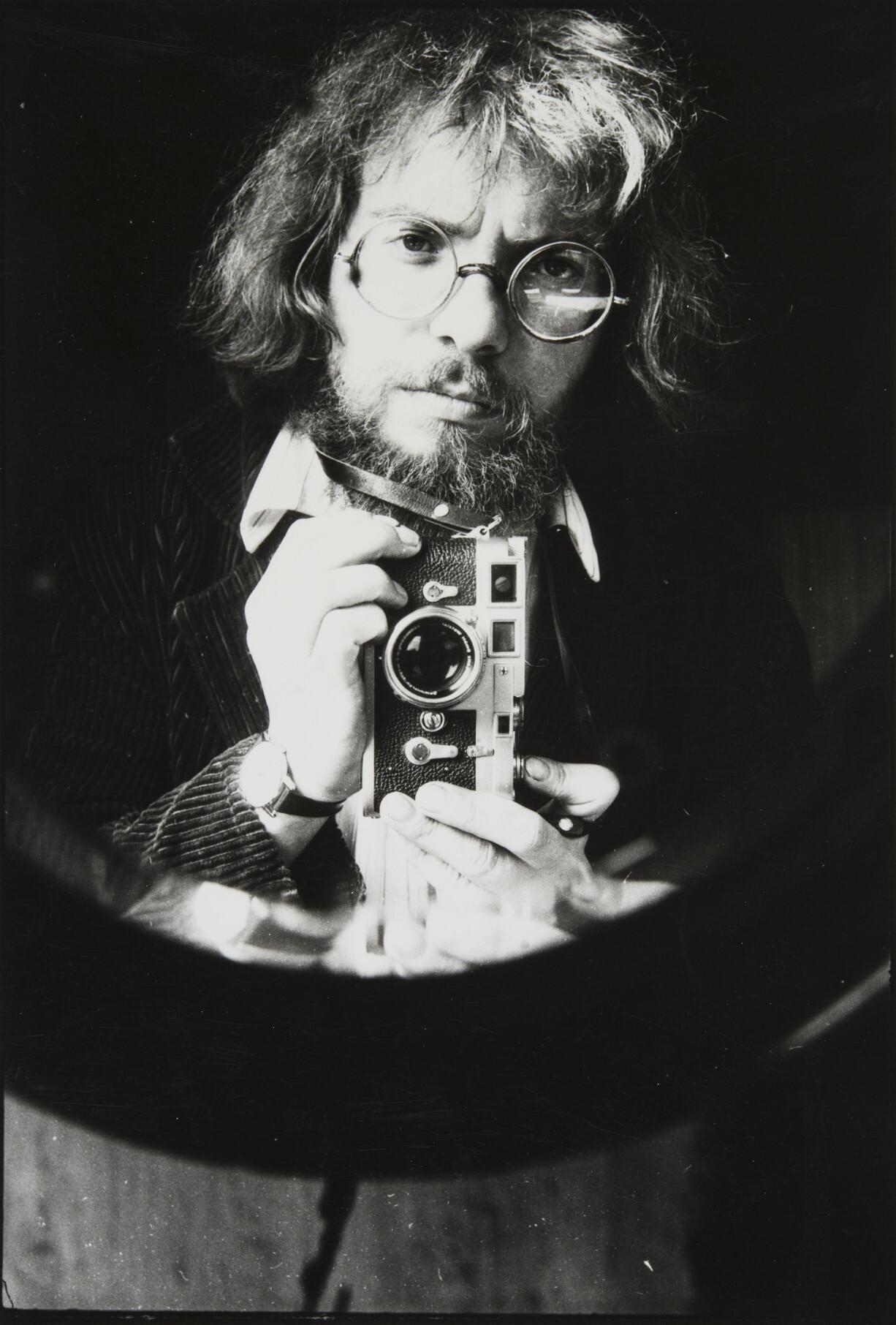 Борис Смелов.    Автопортрет   Ленинград, 1982