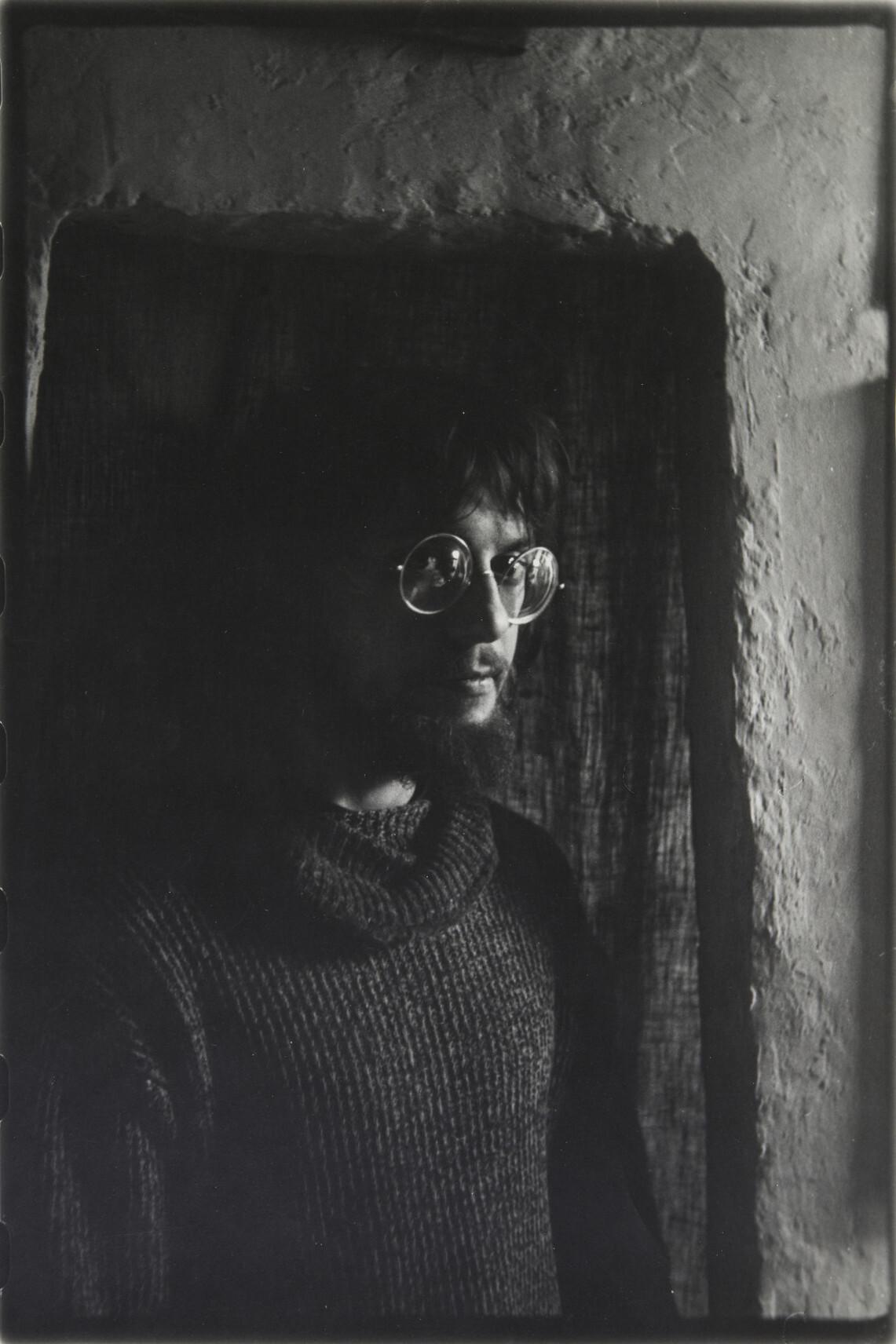 Борис Смелов.    Автопортрет   Ленинград, 1981–1982
