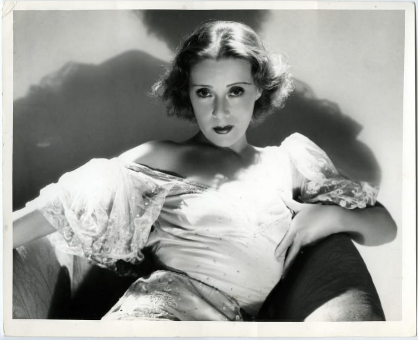 Hollywood 007 Eugenie Leontovich 1933